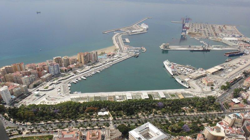 Málaga puerto